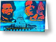 From Slavery To Freedom Greeting Card by Tony B Conscious