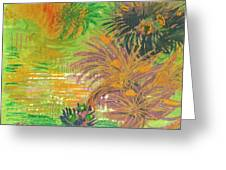 From Tahiti With Love Greeting Card by Anne-Elizabeth Whiteway