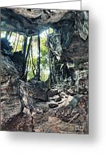 From The Cave Greeting Card by MotHaiBaPhoto Prints