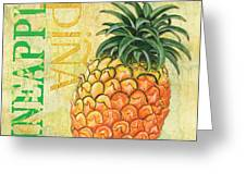 Froyo Pineapple Greeting Card by Debbie DeWitt