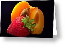 Fruit Display Greeting Card by Amanda Vouglas