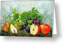 Fruit Garden Greeting Card by Manfred Lutzius