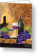 Fruits Of The Vine Greeting Card by Kimberlee Weisker