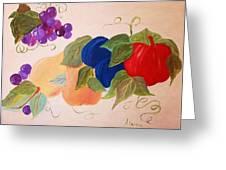 Fun Fruit Greeting Card by Alanna Hug-McAnnally