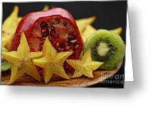 Fun With Fruit Greeting Card by Inspired Nature Photography By Shelley Myke