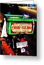 Funky Balinese Motorbike Greeting Card by Funkpix Photo Hunter