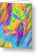 Funky Stilettos Impression Greeting Card by Pierre Louis