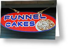 Funnel Cakes Greeting Card by Skip Willits