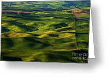 Furrows And Folds Greeting Card by Mike  Dawson