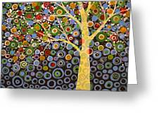 Garden Of Moons #1 Greeting Card by Amy Giacomelli