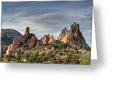 Garden Of The Gods 1 Greeting Card by Jim Pearson