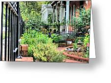 Garden Party Greeting Card by JC Findley