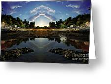 Gate To Paradise Greeting Card by Bruno Santoro