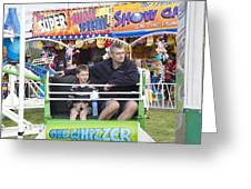 Gee Whizzer Greeting Card by Lee Stickels