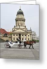 Gendarmenmarkt Berlin Germany Greeting Card by Matthias Hauser