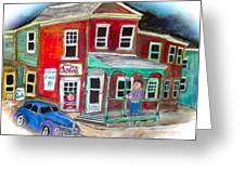 General Store Greeting Card by Michael Litvack