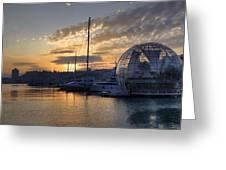 Genoa Greeting Card by Joana Kruse