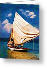 Gentle Winds Greeting Card by Diane E Berry