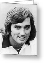 George Best (1946-2005) Greeting Card by Granger