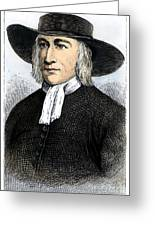 George Fox (1624-1691) Greeting Card by Granger