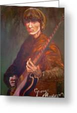 George Harrison Greeting Card by Leland Castro