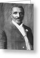 George W. Carver, African-american Greeting Card by Science Source