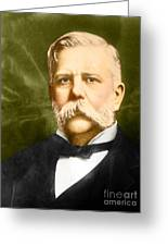 George Westinghouse Greeting Card by Photo Researchers
