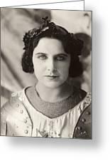 Geraldine Farrar (1882-1967) Greeting Card by Granger