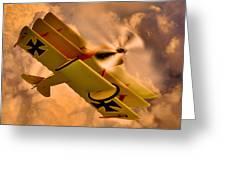 German Airplane Greeting Card by Gennadiy Golovskoy