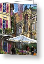Germany Baden-baden 07 Greeting Card by Yuriy  Shevchuk