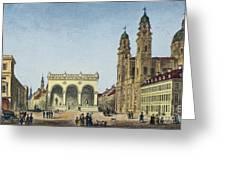 Germany: Munich, C1845 Greeting Card by Granger