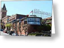 Ghirardelli Chocolate Factory San Francisco California . 7d14093 Greeting Card by Wingsdomain Art and Photography