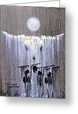 Ghost Dance Greeting Card by Patrick Trotter