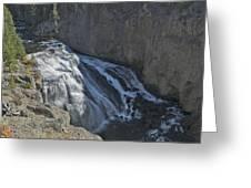 Gibbon Falls 9472 Greeting Card by Michael Peychich