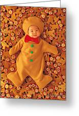 Gingerbreads Greeting Card by Anne Geddes
