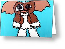 Gizmo Greeting Card by Jera Sky