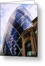 Glass And Stone Greeting Card by John Clark