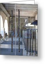 Glass Doors To A Traditional Music Center Greeting Card by Jaak Nilson