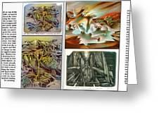 Glenn Litho-diary 1981-85 Greeting Card by Glenn Bautista