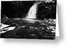 Gleno Or Glenoe Waterfall County Antrim Northern Ireland Uk Greeting Card by Joe Fox