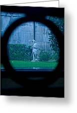 Glimpse Greeting Card by Phil Bongiorno