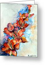 Glorify Greeting Card by Mindy Newman