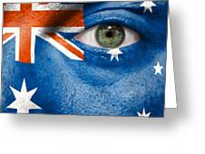 Go Australia Greeting Card by Semmick Photo