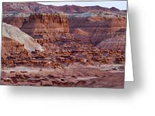 Goblin Valley Triptych Right Greeting Card by Gregory Scott