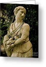 Goddess Of The Bayou Greeting Card by Laura Brightwood
