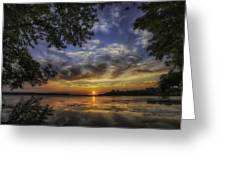Golden Day Greeting Card by Richard Lee