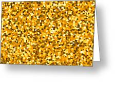 Golden Sprinkle Greeting Card by Sumit Mehndiratta