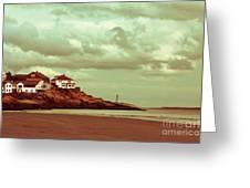 Good Harbor Beach Greeting Card by Dana DiPasquale