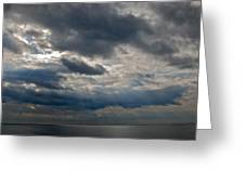 Gozo Skies Greeting Card by Eric Tressler