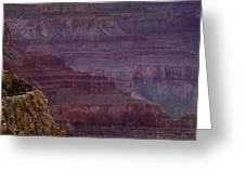 Grand Canyon Ridges Greeting Card by Andrew Soundarajan